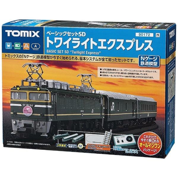 【送料無料】 TOMIX 【Nゲージ】ベーシックセットSD トワイライトエクスプレス