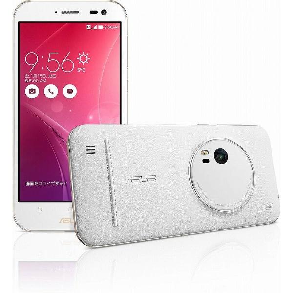 【送料無料】 ASUS エイスース ZenFone Zoom プレミアムレザー ホワイト「ZX551ML-WH64S4」 5.5型・メモリ/ストレージ:4GB/64GB microSIMx1 ドコモ/Ymobile SIM対応 SIMフリースマートフォン[ZX551MLWH64S4][s-ksale]