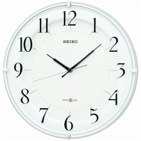 【送料無料】 セイコー 衛星電波掛け時計 「スペースリンク」 GP216W