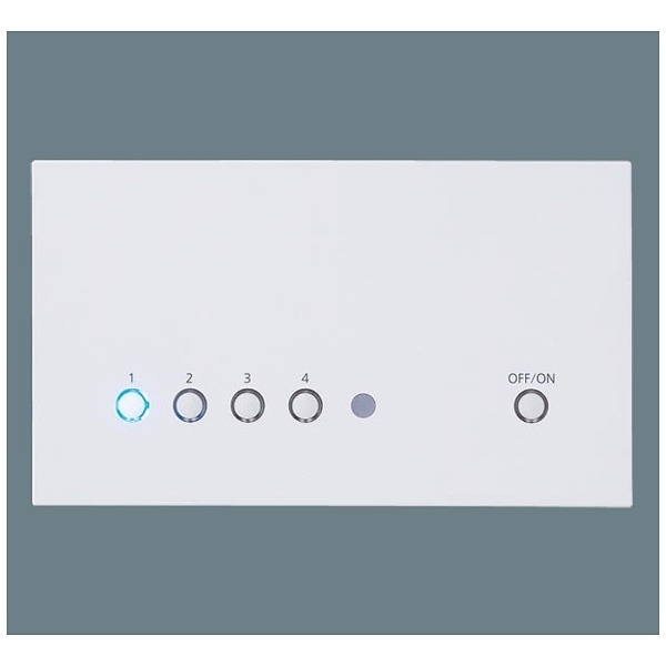 【送料無料】 パナソニック Panasonic リビングライトコントロール 親器 NQ28752WK ホワイト[NQ28752WK] panasonic