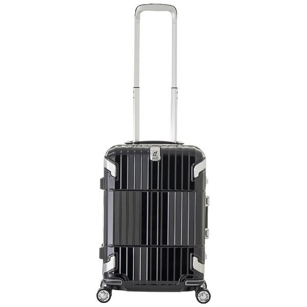 【送料無料】 A.L.I TSAロック搭載スーツケース 「departure」(約35L) HD-505-22 シャイニングブラック[HD50522] 【メーカー直送・代金引換不可・時間指定・返品不可】