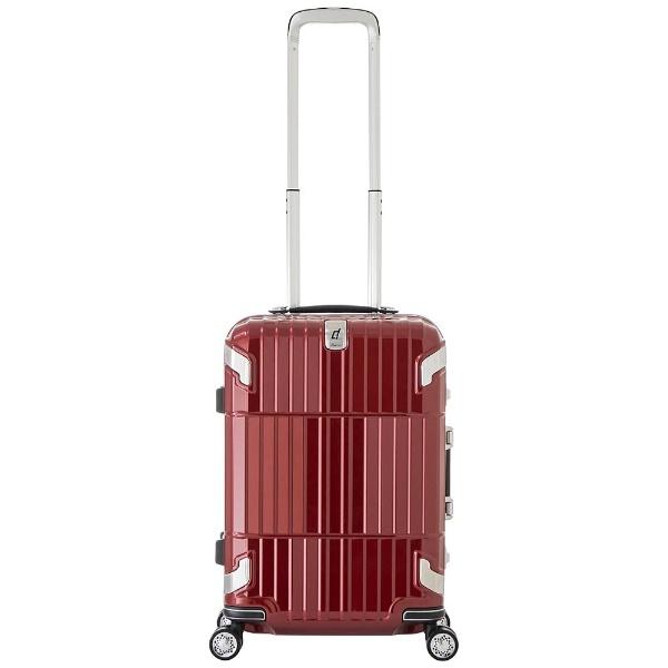 【送料無料】 A.L.I アジア・ラゲージ TSAロック搭載スーツケース 「departure」(約35L) HD-505-22 シャイニングレッド 【メーカー直送・代金引換不可・時間指定・返品不可】