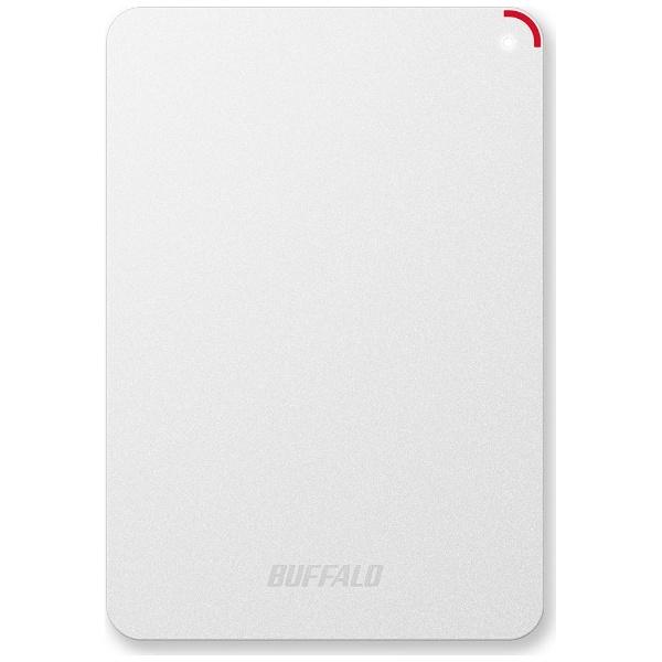 【送料無料】 BUFFALO バッファロー ポータブルハードディスク 4TB[USB3.0・Mac/Win] HD-PSFU3シリーズ ホワイト HD-PSF4.0U3-GW