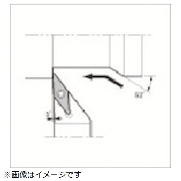 【送料無料】 京セラ 京セラ スモールツール用ホルダ SVJBR2525M-16N