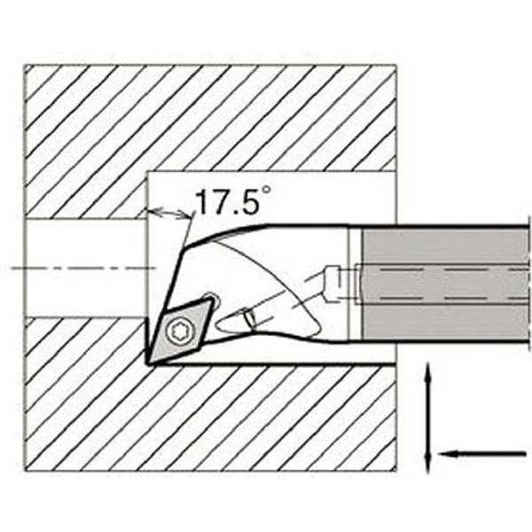 【送料無料】 京セラ 京セラ 内径加工用ホルダ E12Q-SDQCR07-16A