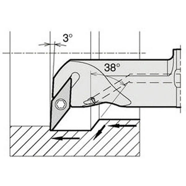【送料無料】 京セラ 京セラ 内径加工用ホルダ A12M-SVUCR08-16AE