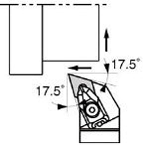 【送料無料】 京セラ 京セラ 外径加工用ホルダ DDHNR2525M-1504