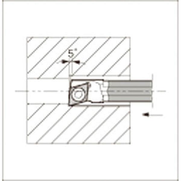 【送料無料】 京セラ 京セラ 内径加工用ホルダ C04X-SJLCR03-055(SJLCR05504B-03W)