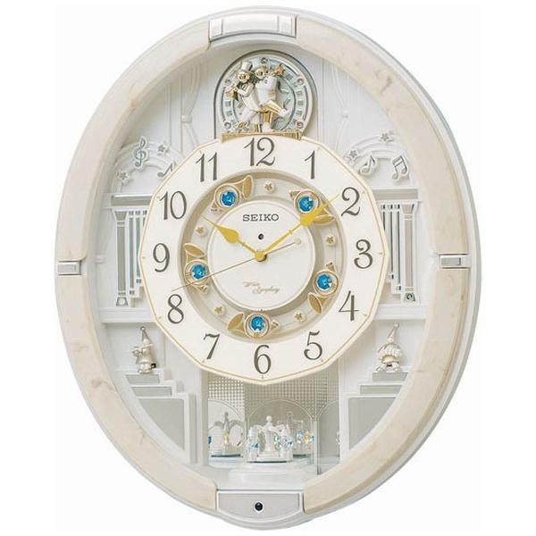 【送料無料】 セイコー SEIKO 電波からくり時計 「ウェーブシンフォニー」 RE576A