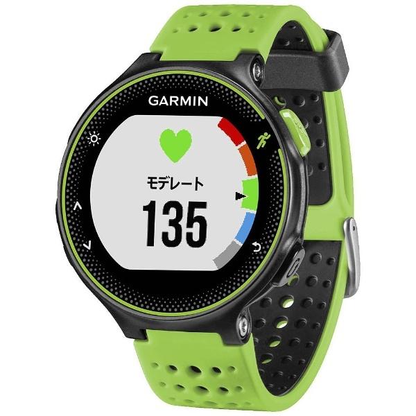 【送料無料】 ガーミン(GARMIN) GPSマルチスポーツウォッチ 「ForeAthlete235J」 37176K (BlackGreen)【正規品】[37176K]