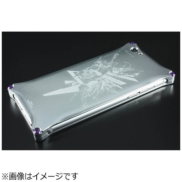 【送料無料】 GILDDESIGN iPhone 6s/6用 Abstract EVANGELION Solid Case KENTA KAKIKAWA 初号機 シルバー 41698 GIEV-240EVAS