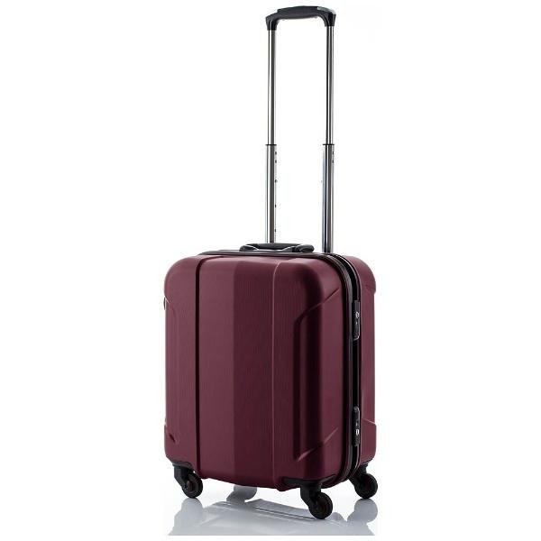 【送料無料】 協和 TSAロック搭載フレームスーツケース「GRAN GEAR」 Sサイズ(37L)ワインレッド【ビックカメラグループオリジナル】【point10】