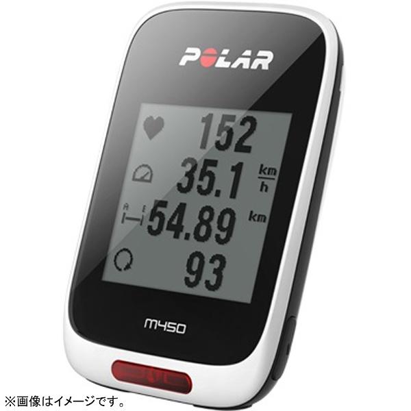 【送料無料】 POLAR(ポラール) サイクルコンピュータ Polar M450HR Special Edition(ブラック) M450SE