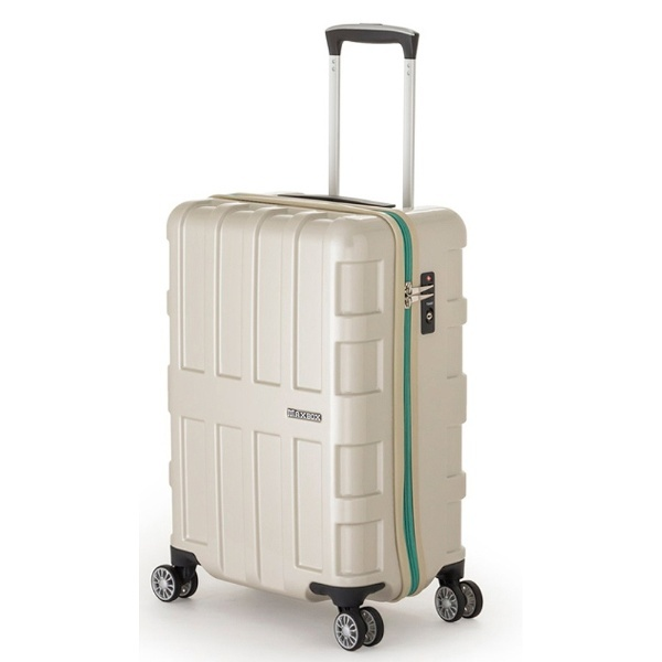 【送料無料】 A.L.I スーツケース ALI1511 (40L) パールホワイト 【メーカー直送・代金引換不可・時間指定・返品不可】