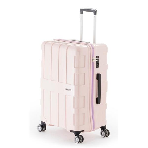【送料無料】 A.L.I スーツケース ALI1701 (96L) グリーンライトピンク 【メーカー直送・代金引換不可・時間指定・返品不可】