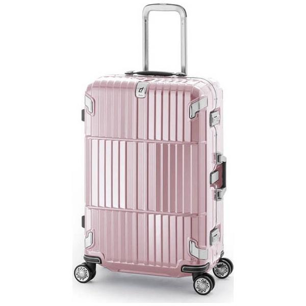 【送料無料】 A.L.I TSAロック搭載スーツケース departure(35L) HD-505-22 シャインニングローズピンク