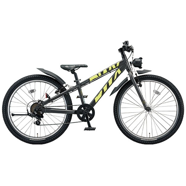 【送料無料】 ブリヂストン 20型 子供用自転車 BWX STREET Sサイズ(ガンメタリック×イエロー/7段変速) BXS076【組立商品につき返品不可】 【代金引換配送不可】