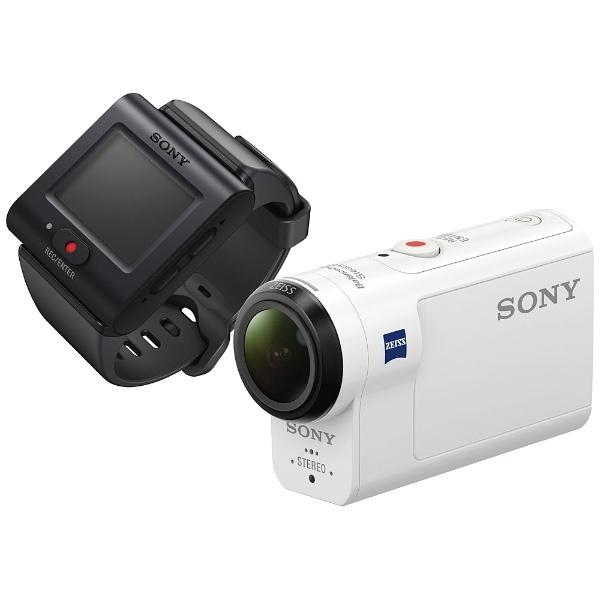 【送料無料】 ソニー SONY メモリースティックマイクロ/マイクロSD対応フルハイビジョンアクションカム(ライブビューリモコンキット) HDR-AS300R[HDRAS300R]