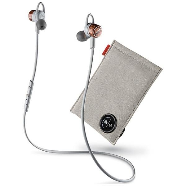 【送料無料】 プラントロニクス 【150円OFFクーポン配布中!】iPad / iPhone / iPod対応[マイク付]ブルートゥースイヤホン カナル型 充電ケース付 (グレー) BackBeat GO3