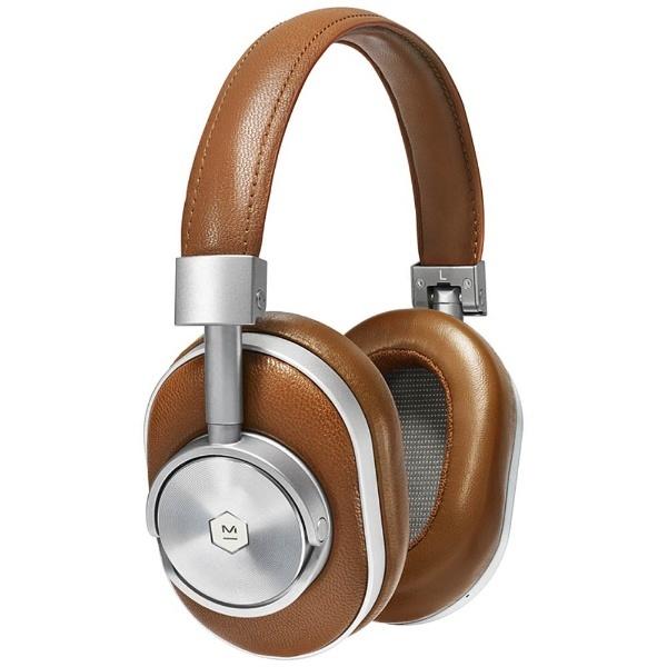 【送料無料】 MASTER&DYNAMIC ブルートゥースヘッドホン Master&Dynamic MW60 MW60S2-BRW SILVER/BROWN [Bluetooth][MW60S2BRW]