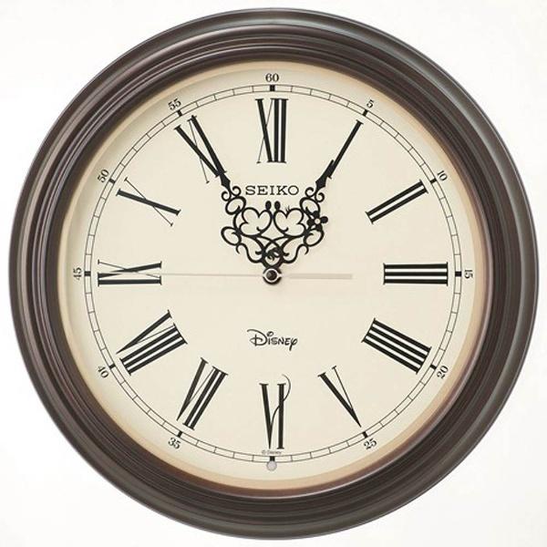 【送料無料】 セイコー 掛け時計 「大人ディスニー ミッキー&ミニー」 FS507B