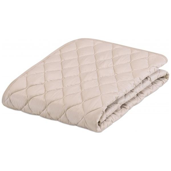 【送料無料】 フランスベッド 【ベッドパッド/ボックスシーツ】グッドスリーププラス 羊毛3点パック(セミダブルサイズ/122×195cm/ベージュ)