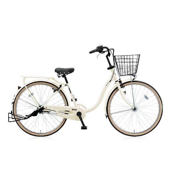 【送料無料】 ブリヂストン 26型 自転車 YUUVI II(E.Xクリームアイボリー/内装3段変速) YV63T6【点灯虫モデル】【組立商品につき返品不可】 【代金引換配送不可】