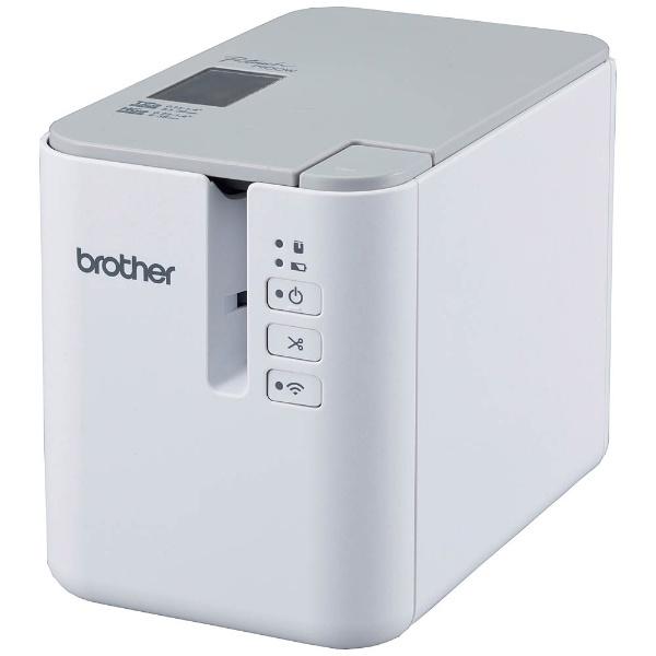 【送料無料】 ブラザー brother ラベルライター 「ピータッチ(P-touch)」オフィス・医療業界向けモデル(テープ幅:36mmまで) PT-P900W