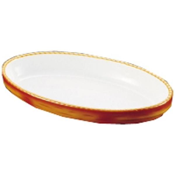 【送料無料】 シェーンバルド シェーンバルド オーバルグラタン皿 茶 3011-40B <RGL26040>