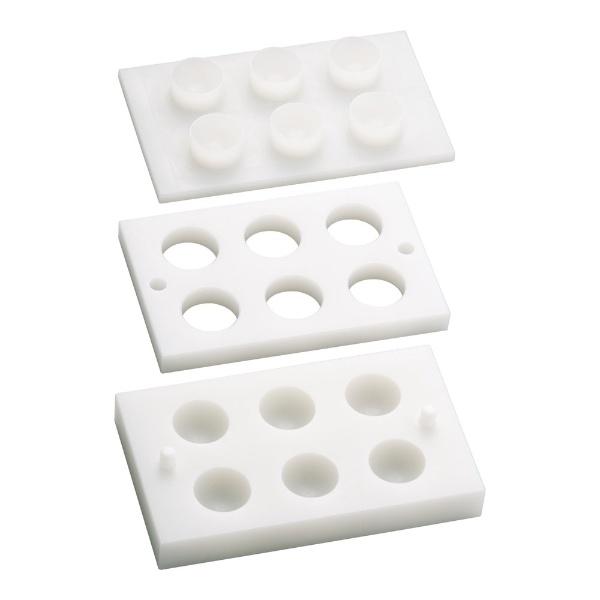 【送料無料】 住ベテクノプラスチック 住友 PE手まり寿司型(6ヶ取) <BSS5201>