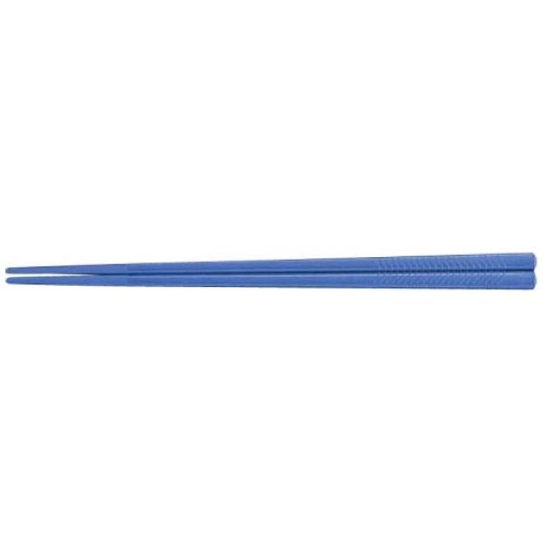 【送料無料】 関東プラスチック工業 PETすべり止め付彫刻入箸(100膳入) PT-215 ブルー <RHS96031>