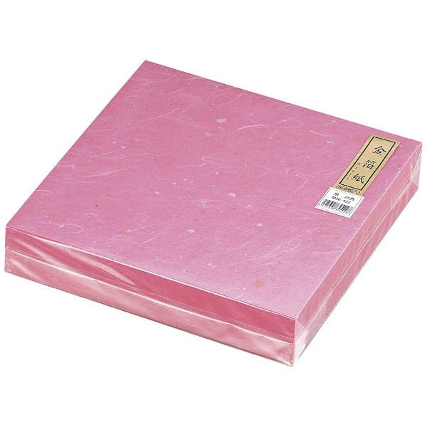 【送料無料】 マイン 金箔紙ラミネート 桃 (500枚入) M30-422 <QKV22422>