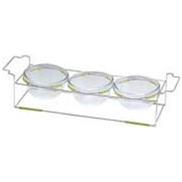 【送料無料】 ミヤザキ食器 ワイヤースタンドセット(12cmボール付) BQ9909-1203(GR) <NWI0403>