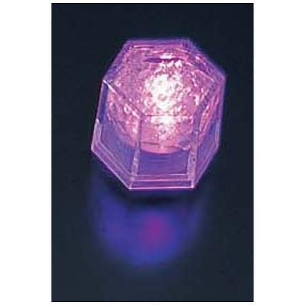 【送料無料】 マックスタッフ ライトキューブ・クリスタル 高輝度 (24個入) パープル <PLI4404>