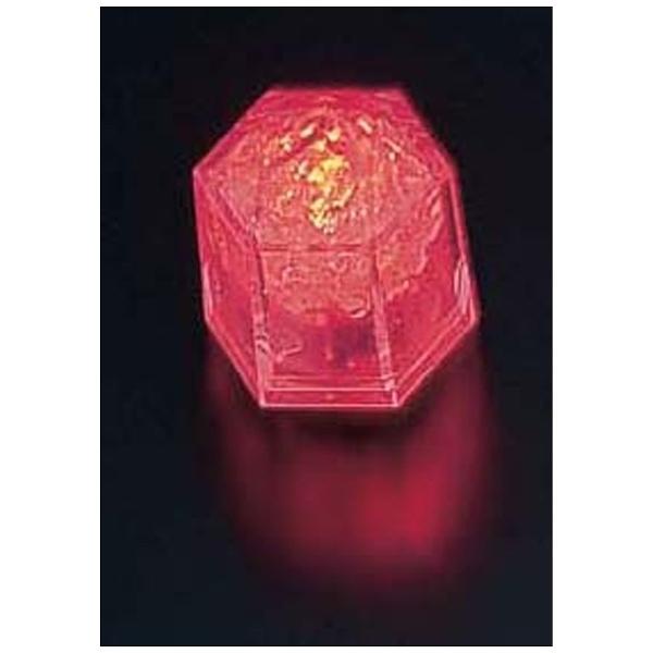 【送料無料】 マックスタッフ ライトキューブ・クリスタル 標準輝度 (24個入) レッド <PLI4301>