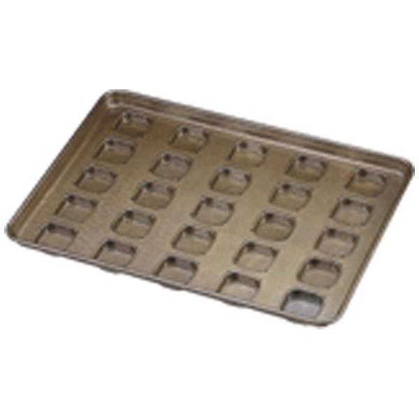 【送料無料】 千代田金属工業 シリコン加工 サボン型天板(25ヶ取) <WTV13>