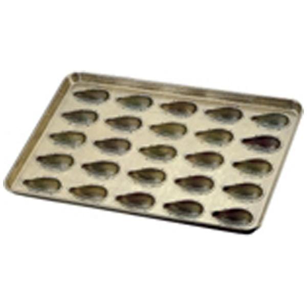 【送料無料】 千代田金属工業 シリコン加工 アマンドナッツ型天板 (25ヶ取) <WTV39>