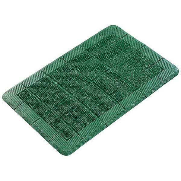 【送料無料】 山崎産業 クロスハードマット 900×1500mm 緑 <KMT21155A>