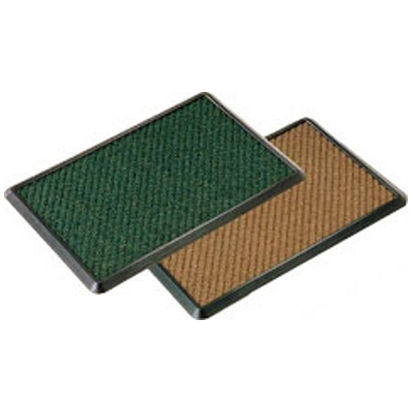 【送料無料】 山崎産業 消毒マットセット 900×1200 緑 <KMT2301>
