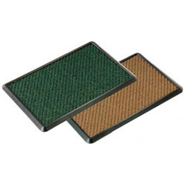 【送料無料】 山崎産業 消毒マットセット 900×1200 茶 <KMT2302>