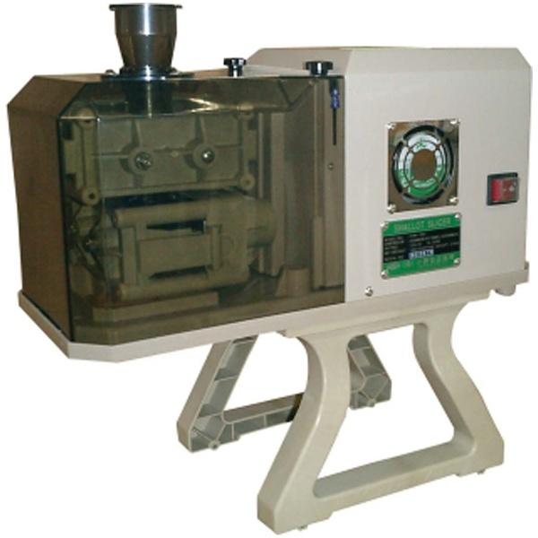 【送料無料】 小野食品機械 シャロットスライサー OFM-1007 (1.7mm刃付)50Hz <CSY0501>