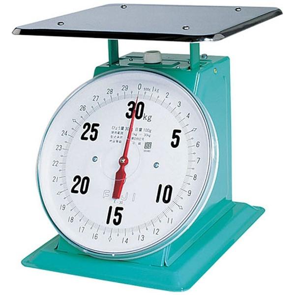 【送料無料】 富士計器 フジ 上皿自動ハカリ 特大E型 30kg (平皿付) <BHK5230>