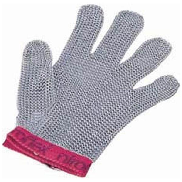 【送料無料】 ニロフレックス ニロフレックス メッシュ手袋5本指 M M5(赤) <STB6502>