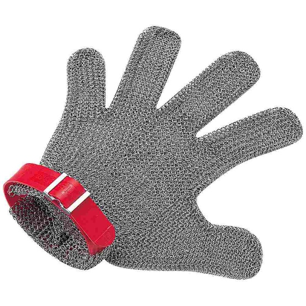 【送料無料】 ニロフレックス ニロフレックス メッシュ手袋5本指 M M5R-EF 右手用(赤) <STBD804>