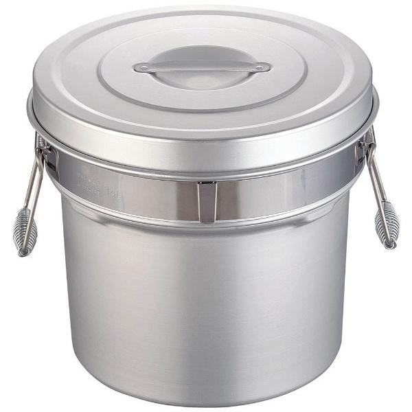 【送料無料】 オオイ金属 アルマイト段付二重食缶 249R (14l) <ASY74249>
