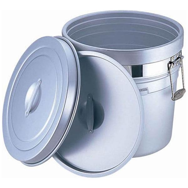 【送料無料】 オオイ金属 アルマイト 段付二重食缶 (大量用) 250-A (20l) <ASYA001>