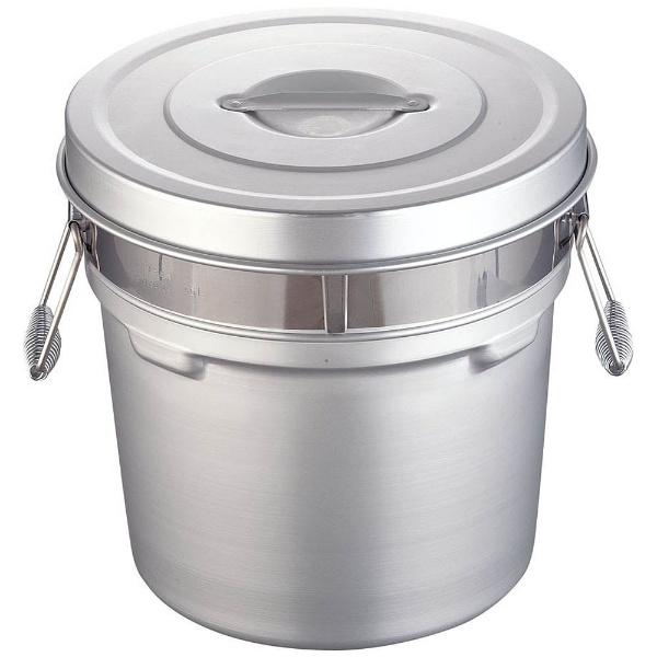 【送料無料】 オオイ金属 アルマイト段付二重食缶 250R (16l) <ASY74250>