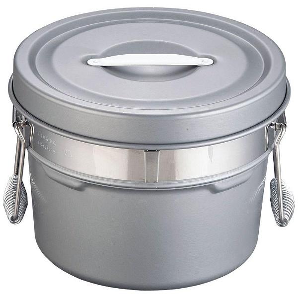 【送料無料】 オオイ金属 段付二重食缶(内外超硬質ハードコート) 245-H (6l) <ASY58245>