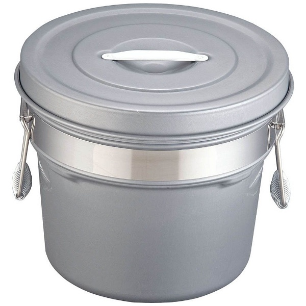【送料無料】 オオイ金属 段付二重食缶(内外超硬質ハードコート) 248-H(12l) <ASY58248>