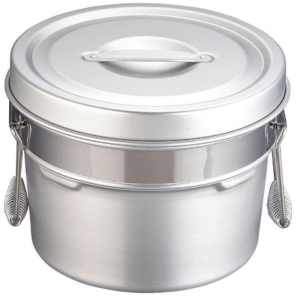 【送料無料】 オオイ金属 アルマイト段付二重食缶 245R (6l) <ASY74245>